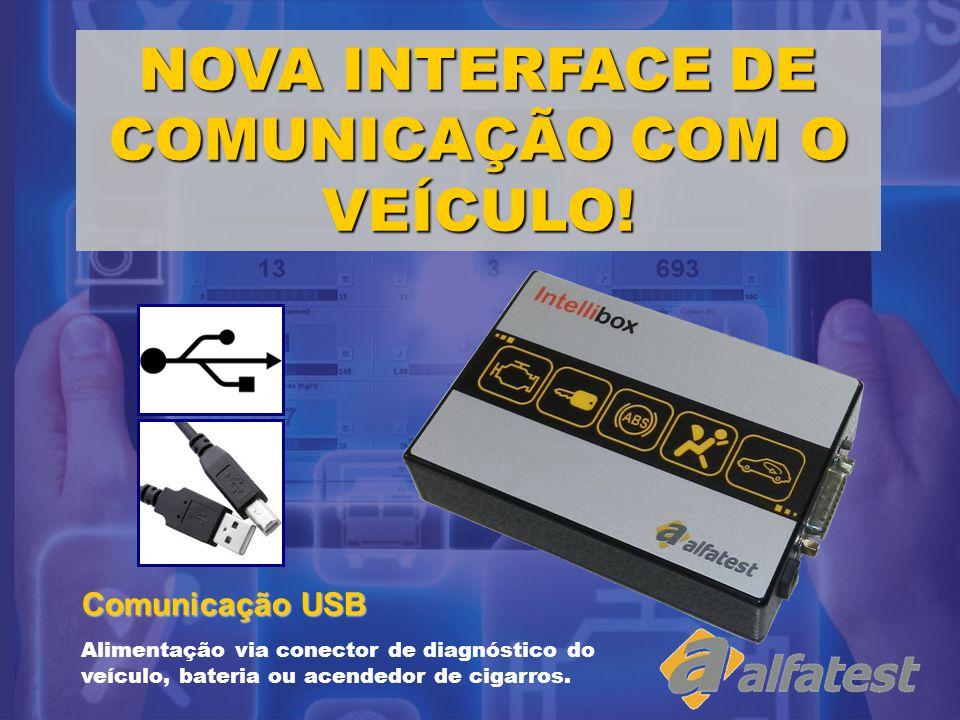 NOVA INTERFACE DE COMUNICAÇÃO COM O VEÍCULO!
