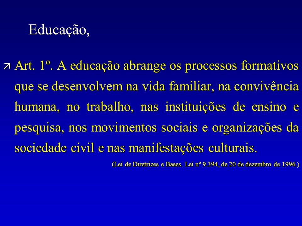 Educação,