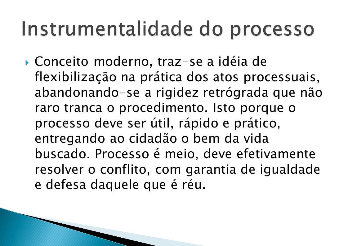 Instrumentalidade do processo