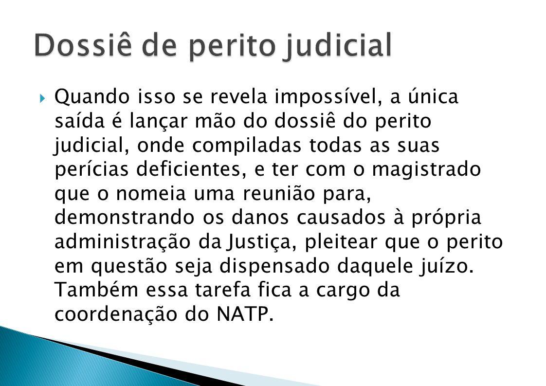 Dossiê de perito judicial