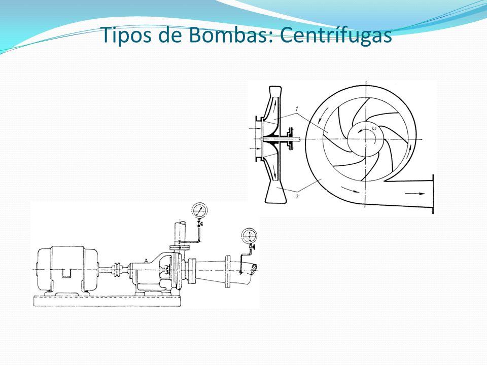 Tipos de Bombas: Centrífugas