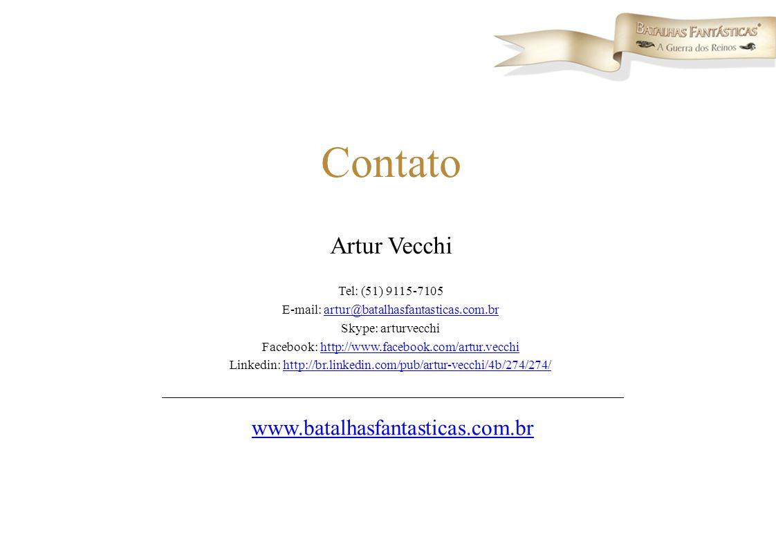 Contato Artur Vecchi www.batalhasfantasticas.com.br