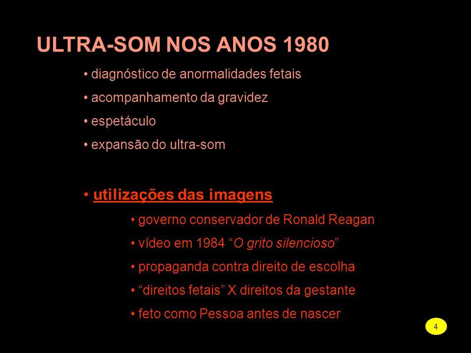 ULTRA-SOM NOS ANOS 1980 utilizações das imagens