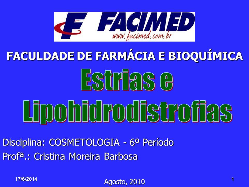 FACULDADE DE FARMÁCIA E BIOQUÍMICA