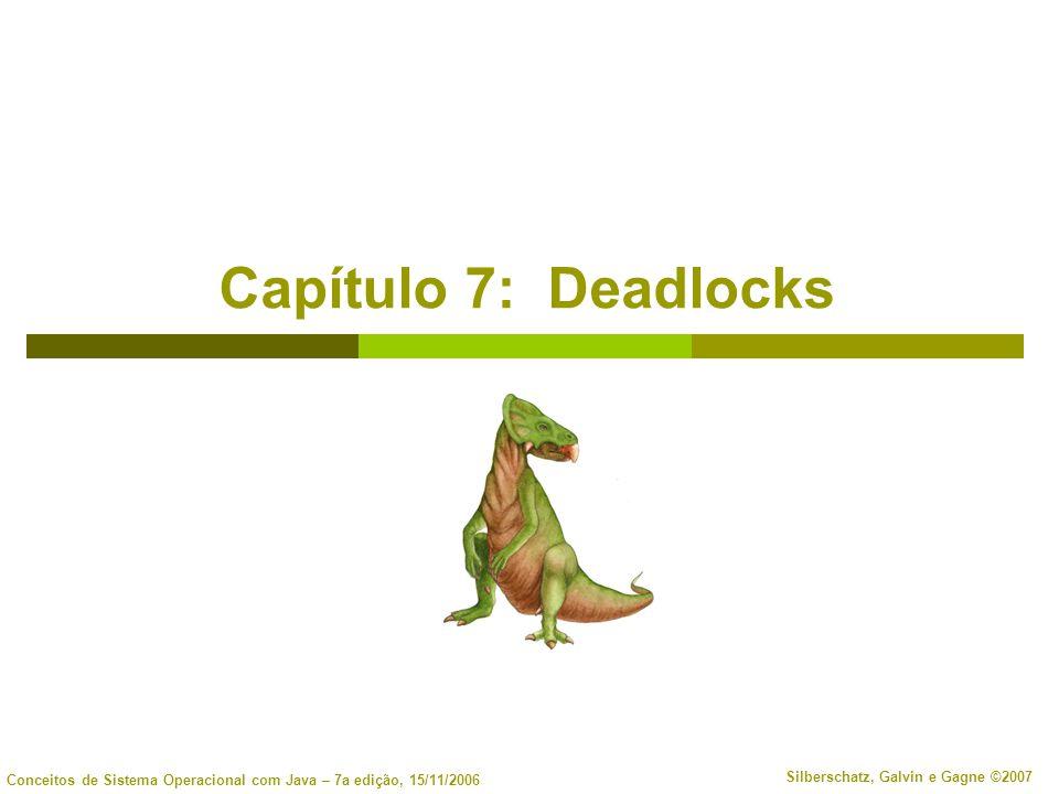 Capítulo 7: Deadlocks