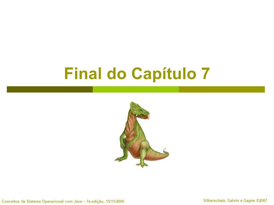 Final do Capítulo 7
