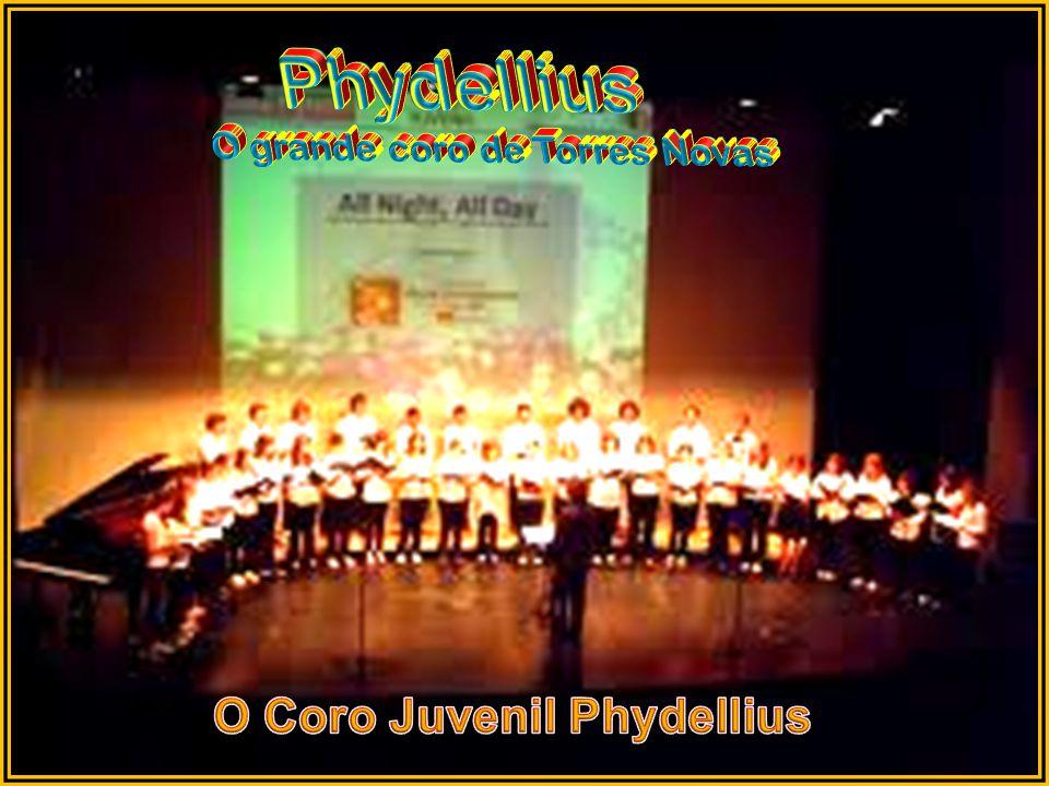 Phydellius O grande coro de Torres Novas O Coro Juvenil Phydellius