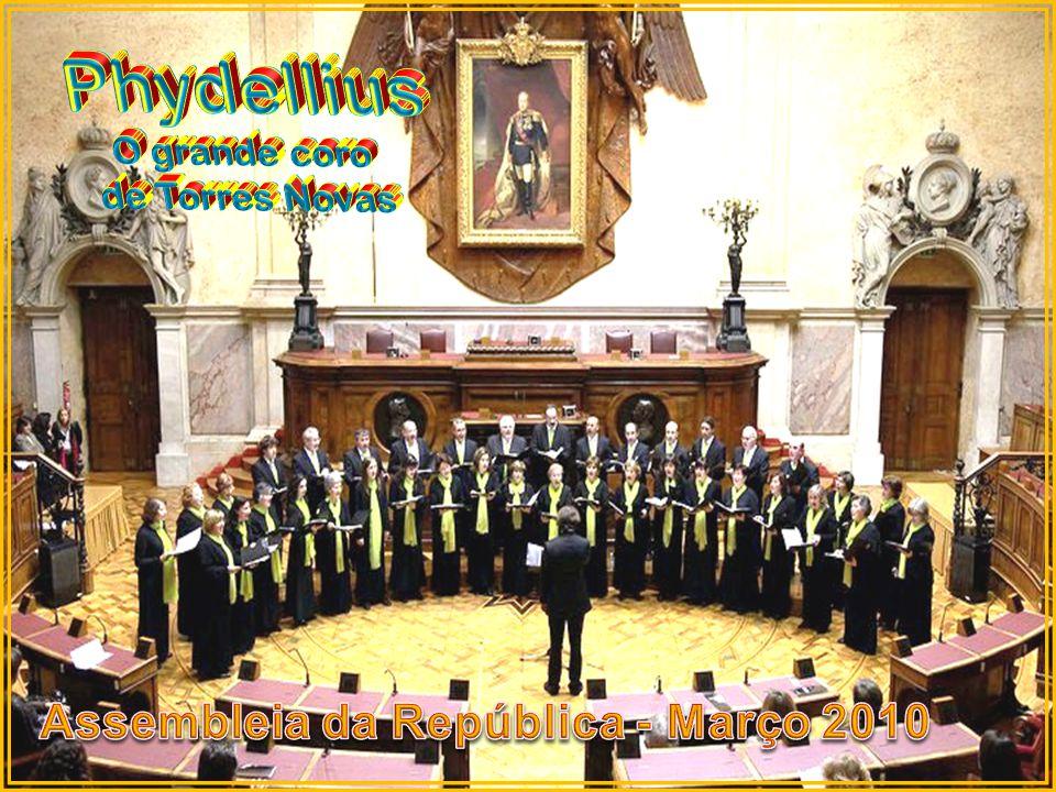 Phydellius Assembleia da República - Março 2010 O grande coro