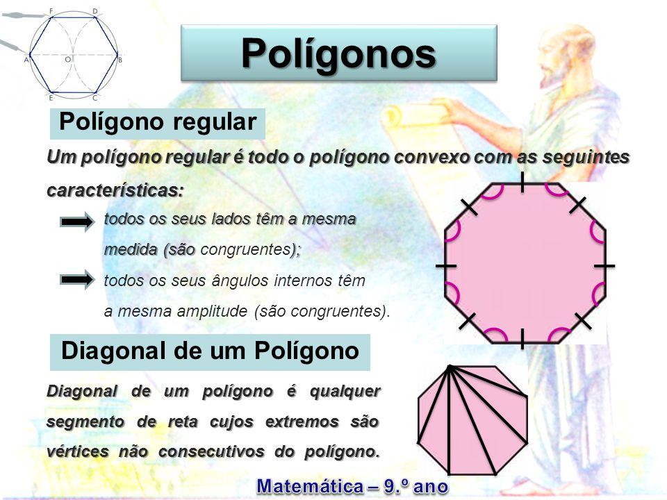 Diagonal de um Polígono