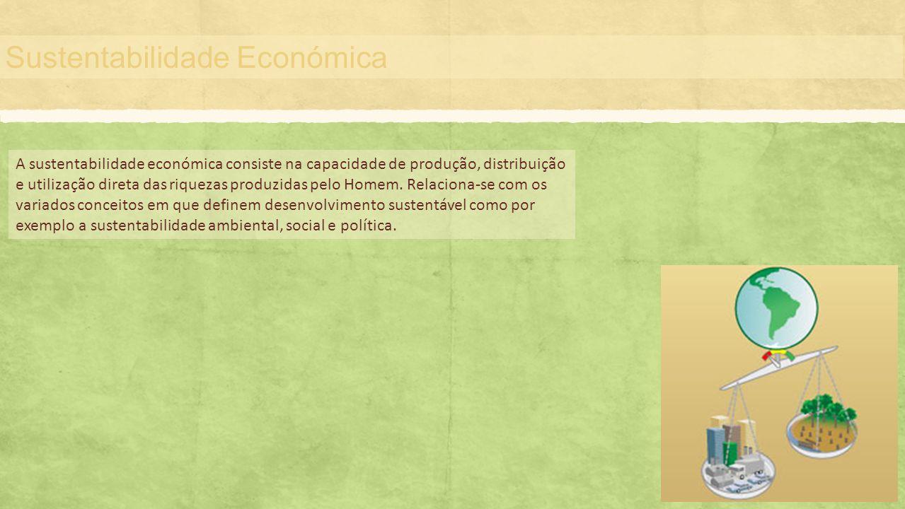 Sustentabilidade Económica