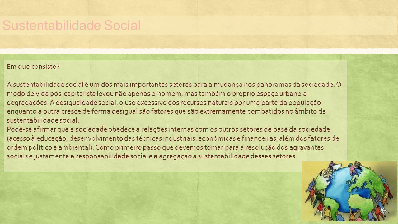 Sustentabilidade Social