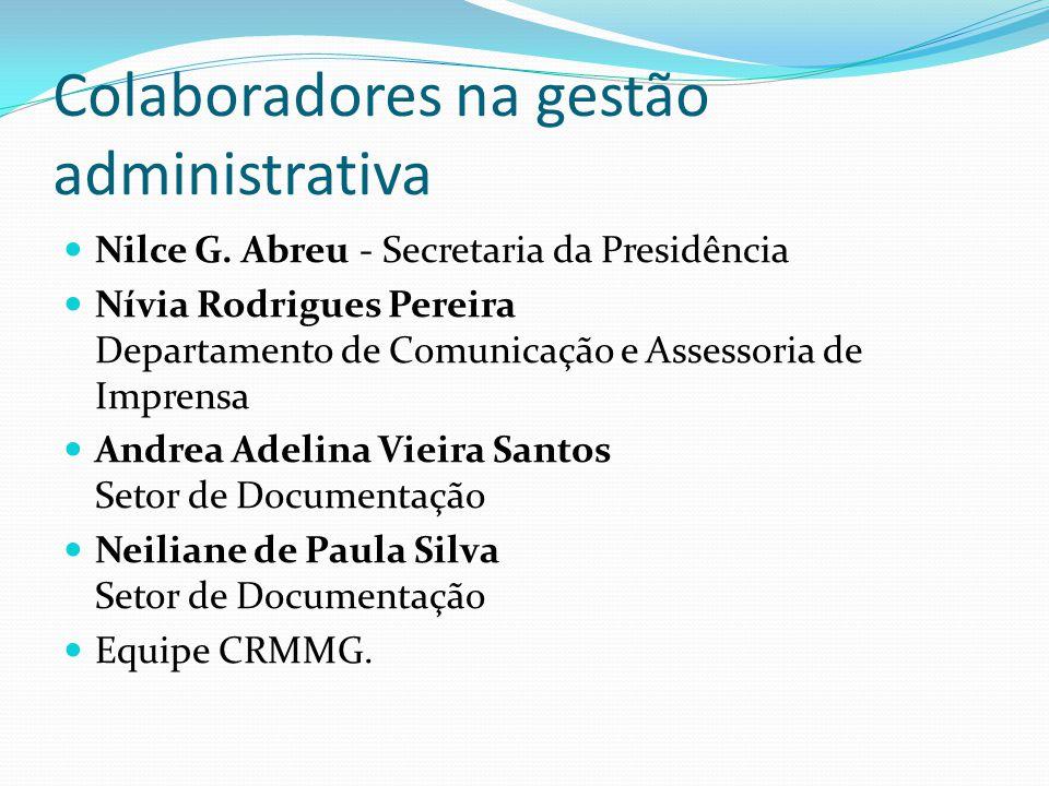 Colaboradores na gestão administrativa