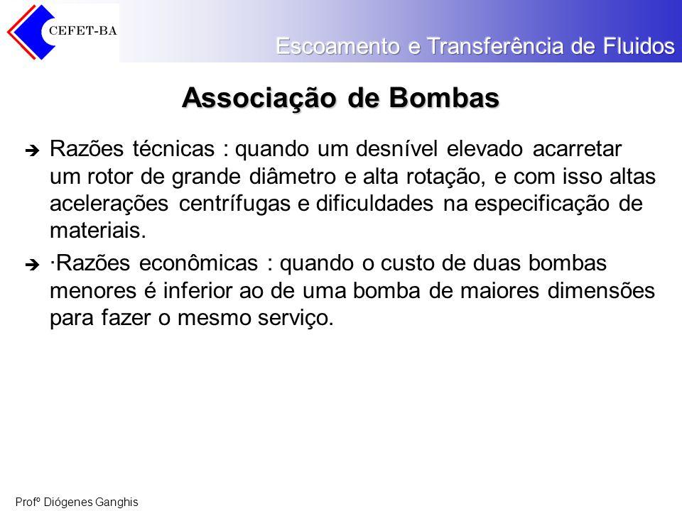 Associação de Bombas