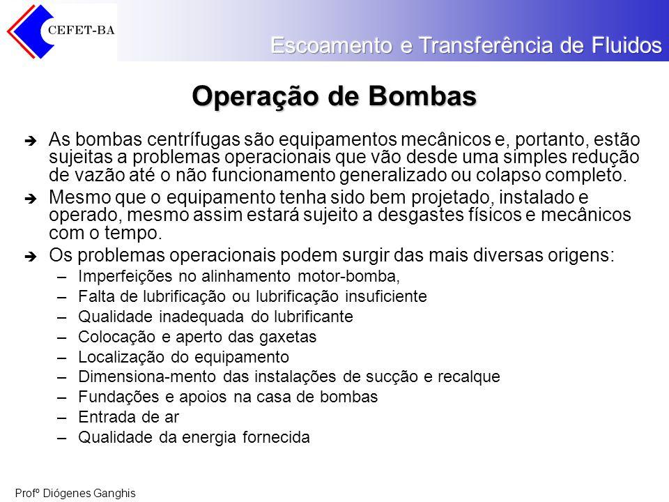 Operação de Bombas