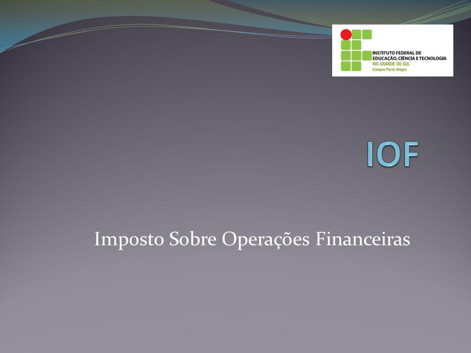 Imposto Sobre Operações Financeiras