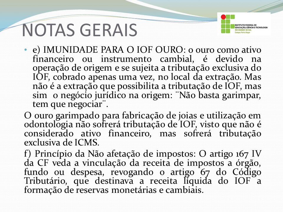 NOTAS GERAIS