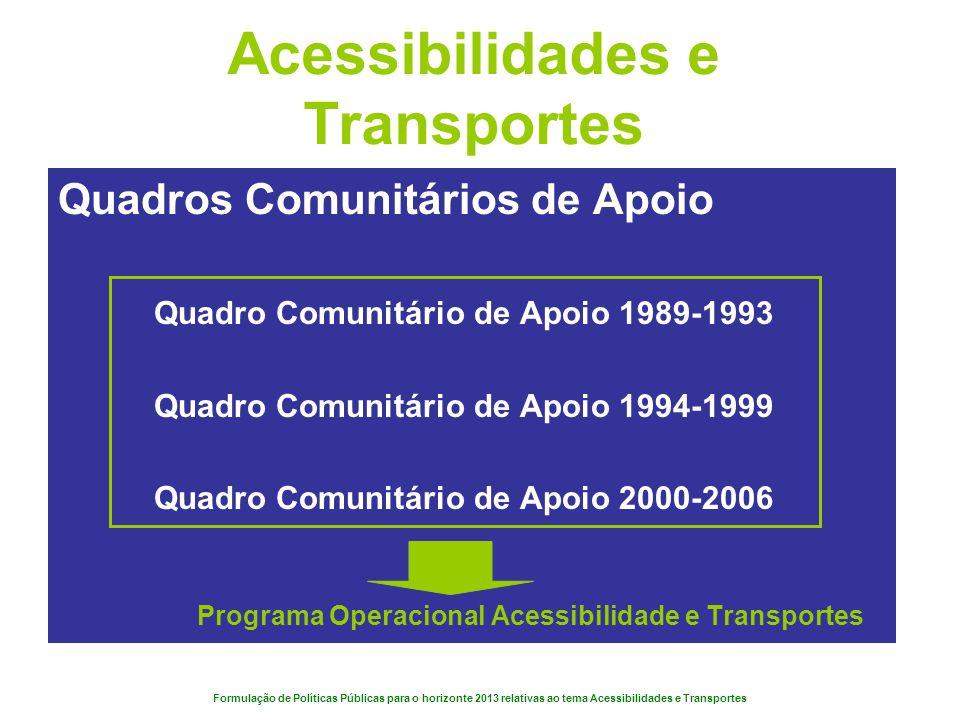 Acessibilidades e Transportes