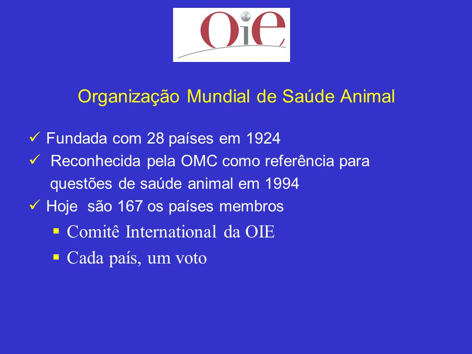 Organização Mundial de Saúde Animal