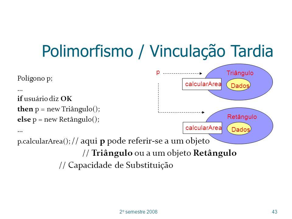 Polimorfismo / Vinculação Tardia
