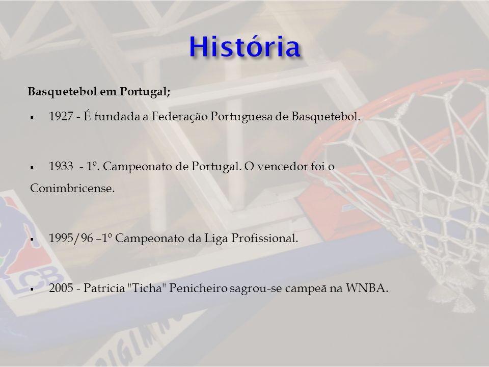 História Basquetebol em Portugal;