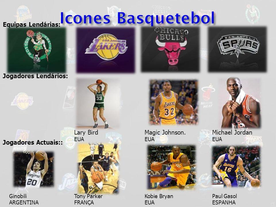 Icones Basquetebol Equipas Lendárias: Jogadores Lendários: