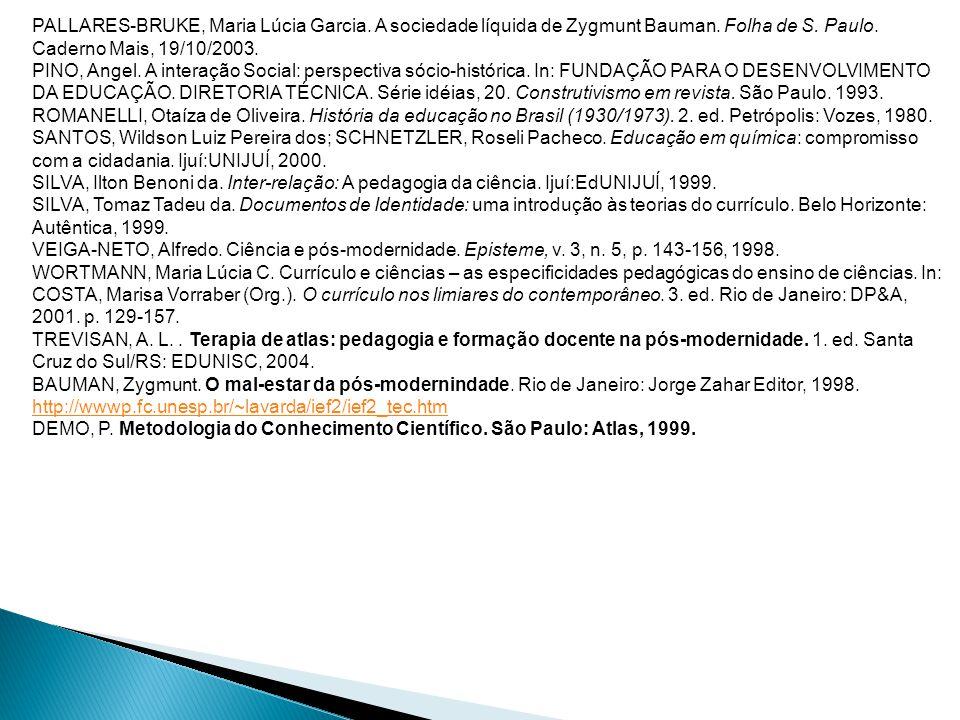 PALLARES-BRUKE, Maria Lúcia Garcia