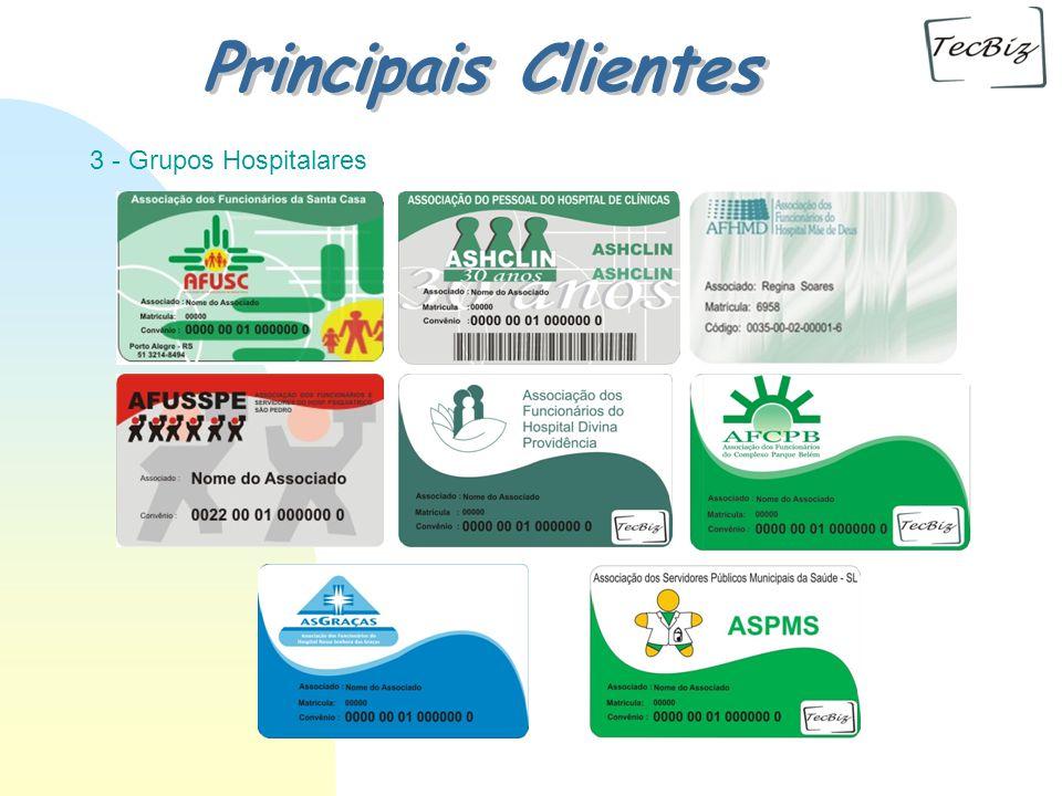 02/04/2017 Principais Clientes 3 - Grupos Hospitalares