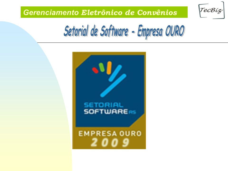 Setorial de Software - Empresa OURO