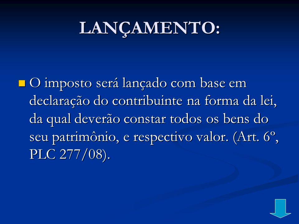 LANÇAMENTO: