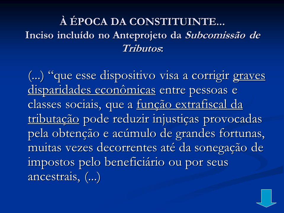 À ÉPOCA DA CONSTITUINTE