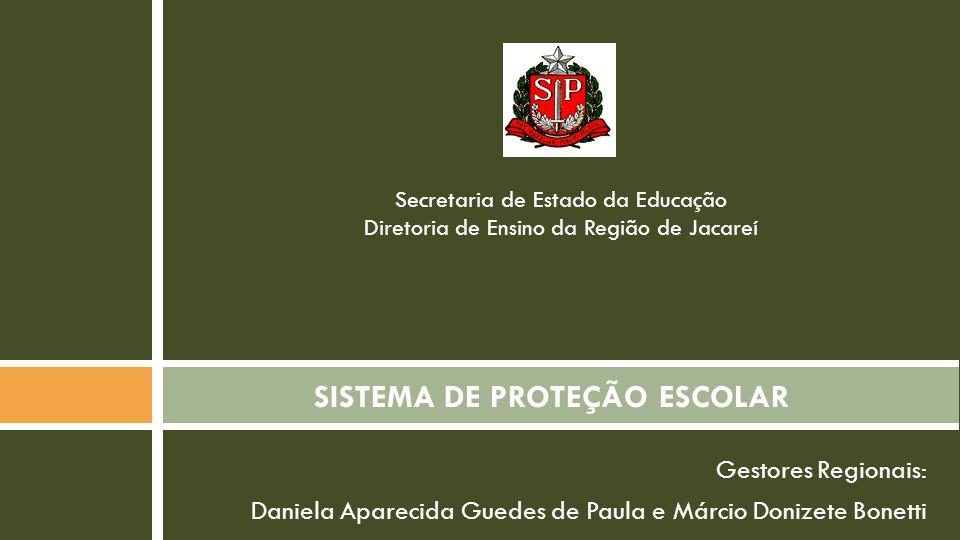 SISTEMA DE PROTEÇÃO ESCOLAR
