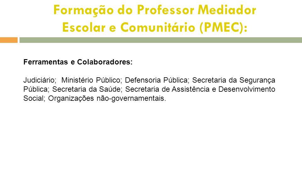 Formação do Professor Mediador Escolar e Comunitário (PMEC):