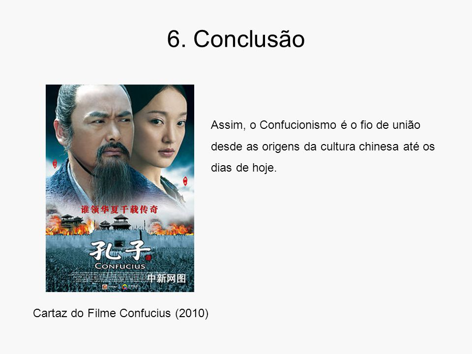 Cartaz do Filme Confucius (2010)