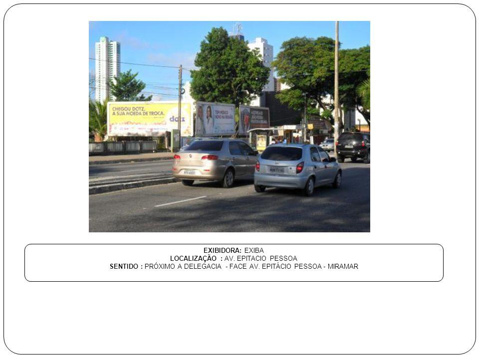 LOCALIZAÇÃO : AV. EPITACIO PESSOA