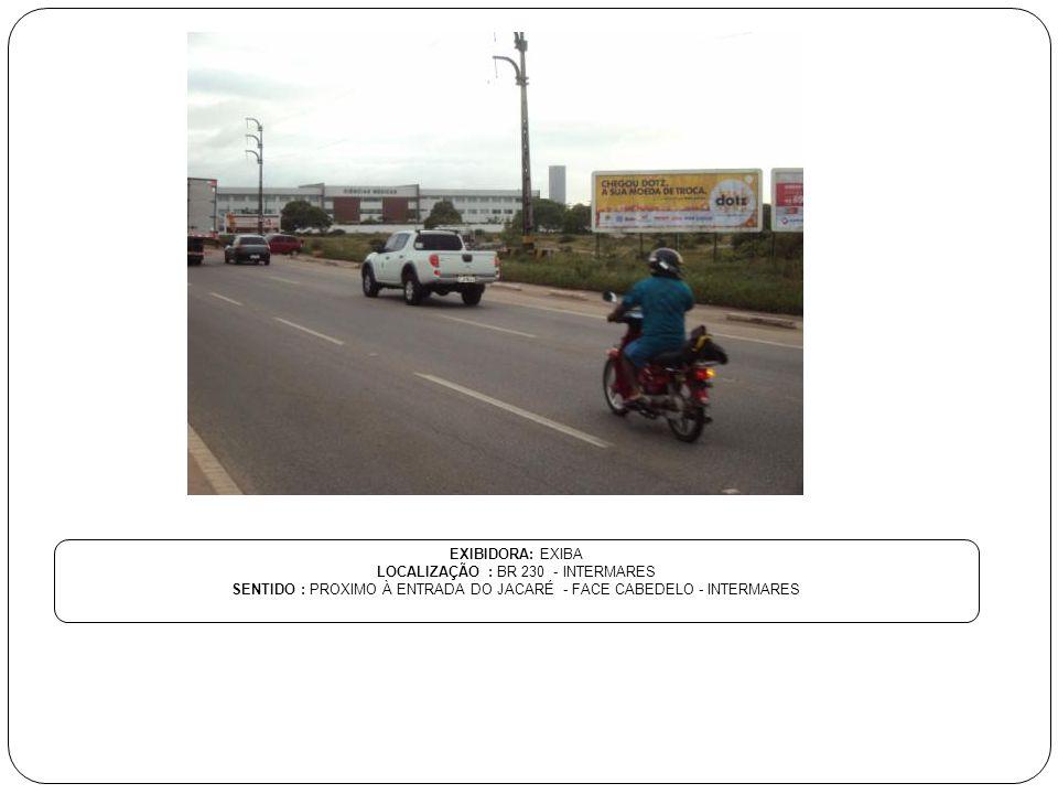LOCALIZAÇÃO : BR 230 - INTERMARES