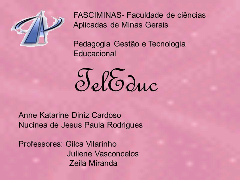 TelEduc FASCIMINAS- Faculdade de ciências Aplicadas de Minas Gerais