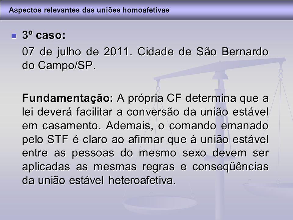 07 de julho de 2011. Cidade de São Bernardo do Campo/SP.