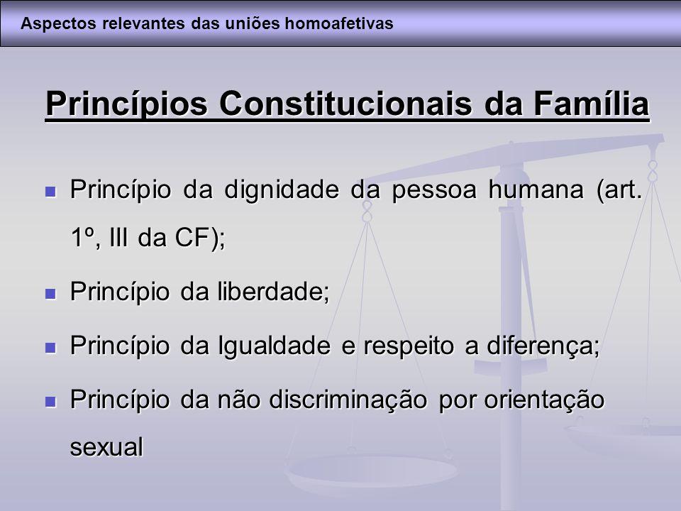 Princípios Constitucionais da Família