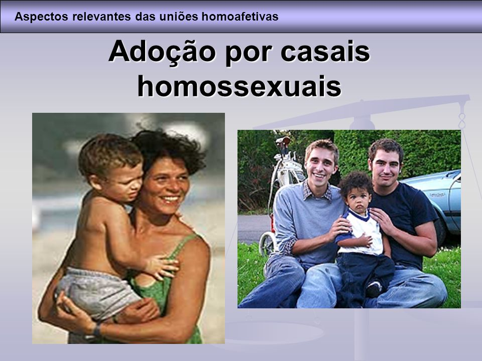 Adoção por casais homossexuais