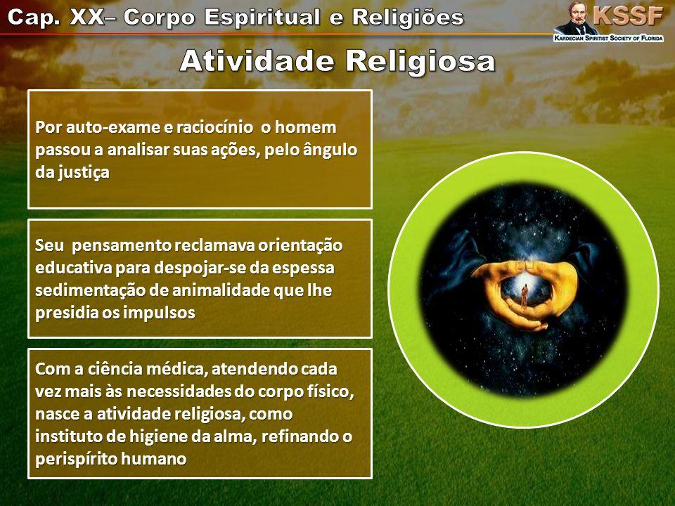 Atividade Religiosa Cap. XX– Corpo Espiritual e Religiões