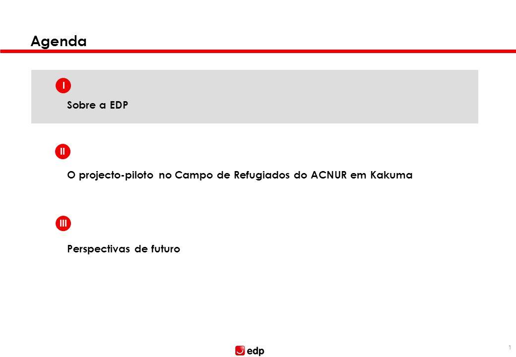 A EDP é uma empresa de referência no mercado ibérico com forte presença no Brasil e investimentos consideráveis nos EUA