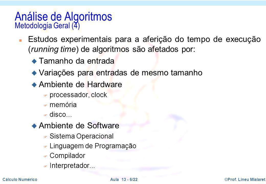 Análise de Algoritmos Metodologia Geral (4)