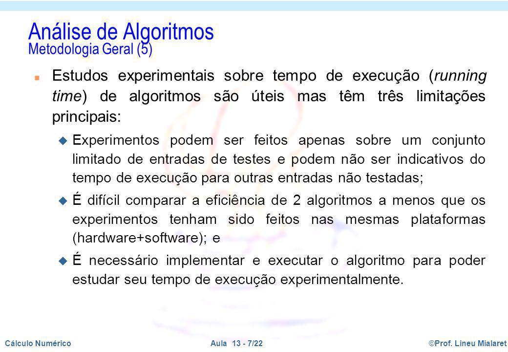 Análise de Algoritmos Metodologia Geral (5)