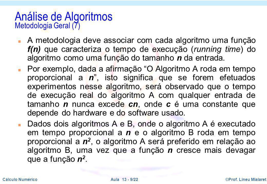 Análise de Algoritmos Metodologia Geral (7)