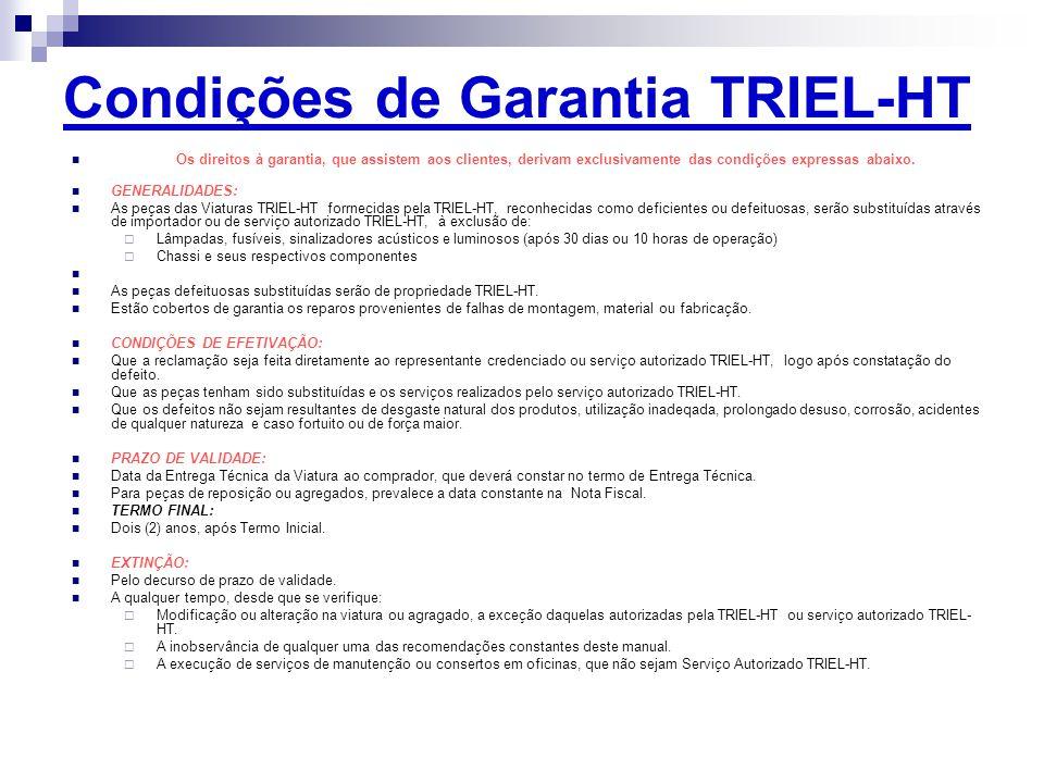 Condições de Garantia TRIEL-HT
