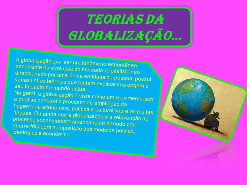TEORIAS DA GLOBALIZAÇÃO…