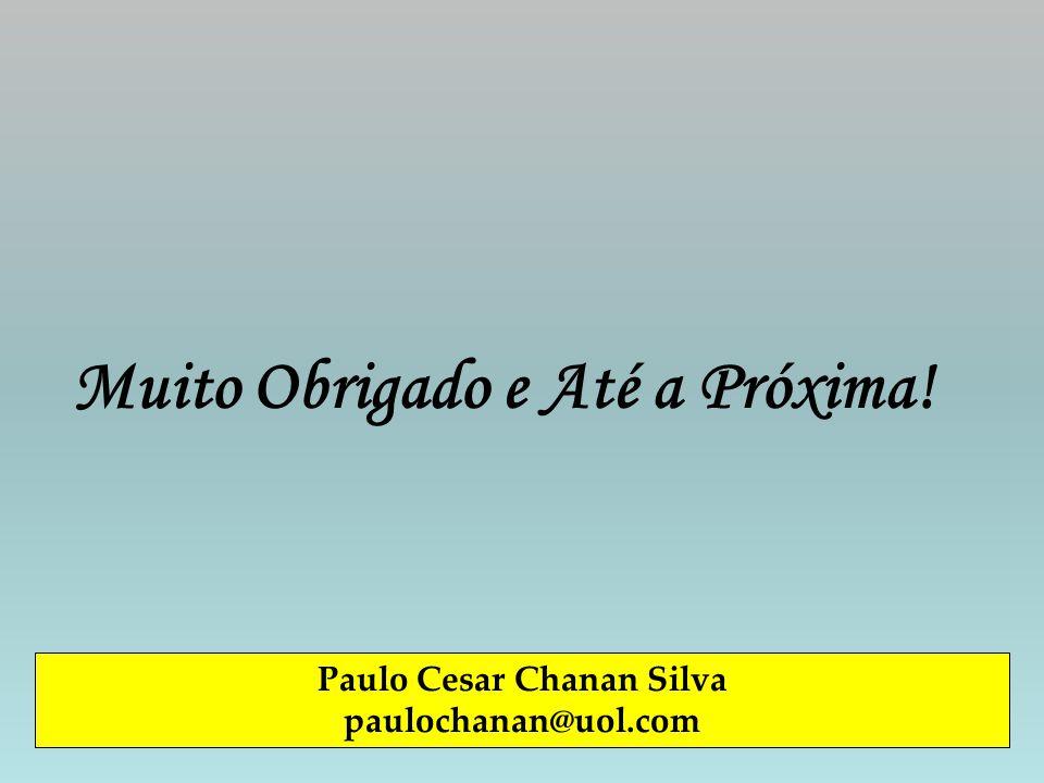 Paulo Cesar Chanan Silva paulochanan@uol.com