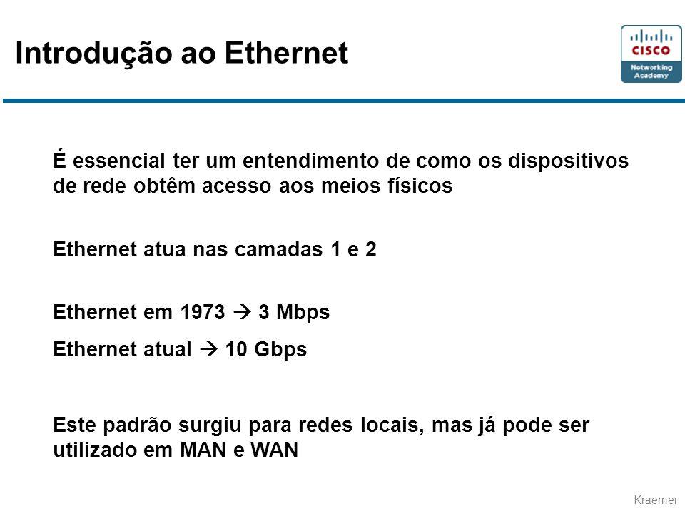 Introdução ao Ethernet