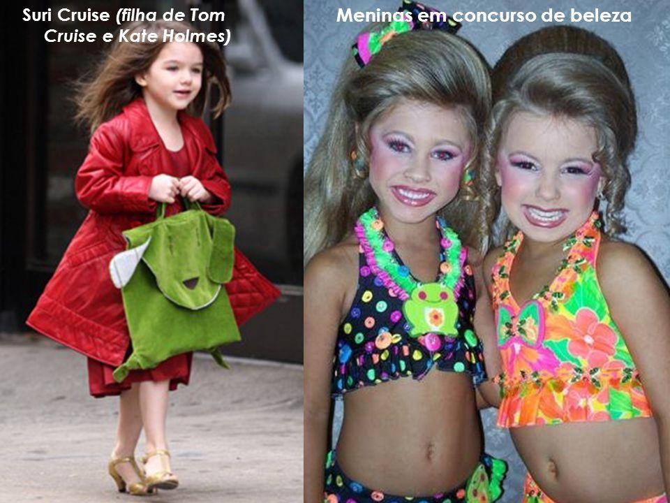 Suri Cruise (filha de Tom Cruise e Kate Holmes)