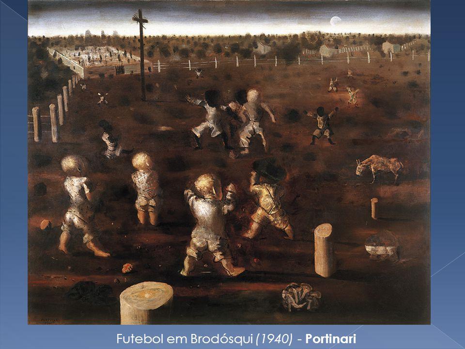 Futebol em Brodósqui (1940) - Portinari